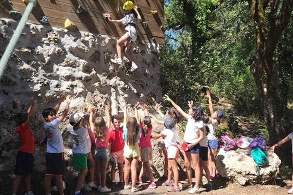 cursos verano campamento Cherokee Colegio San José